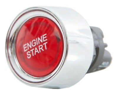Red LED 12v Engine Push Start Button Ignition Power Switch for Car Boat Bike