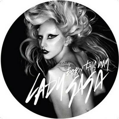 """Lady Gaga Born This Way Limited Picture Disc 12"""" Single"""
