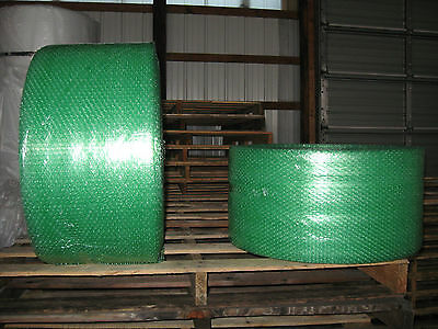"""RECYCLED SM GREEN BUBBLE, 3/16"""", 12""""X600'- SHIPS NOW!"""