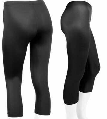 Womens Spandex Knicker Exercise Compression Capri