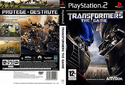 Transformers The GAME for PS2 CHEAP Game AU PAL