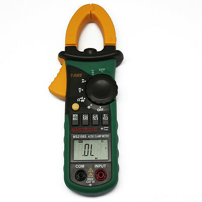 MS2108 T-RMS DC clamp meter nrush compared w/ FLUKE