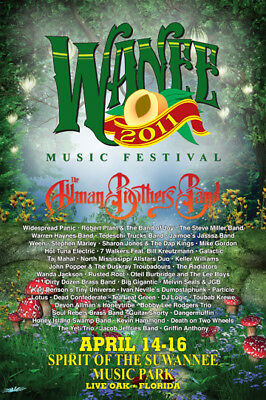 2 Wanee Music Festival Posters 2011