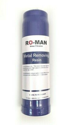 Metal Removing Resin Cartridge (DI) | Reverse Osmosis and Water Filtration