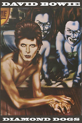 David Bowie * Diamond Dogs * Promotional Poster 1974  12x18