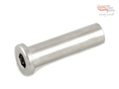 M6 X 33mm Female Hex Adjuster Tensioner G316 Stainless Steel
