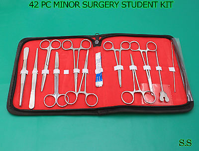 42 Pc O.r Grade Minor Surgery Student Suture Surgical