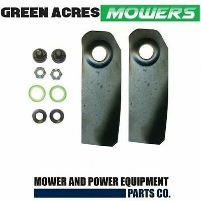 """2 X 18"""" Blades And Bolts Xht Hardened  For Victa Lawnmower   Ca09506S"""