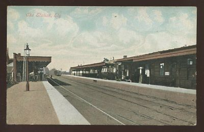 Cambs ELY Railway Station early PPC