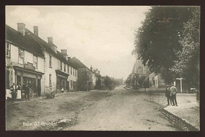 Wilts HINDON High St early  PPC