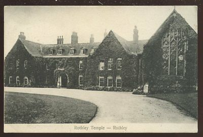 Leicestershire ROTHELY Temple 1906 PPC