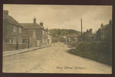 Leicestershire STATHERN Main Street PPC