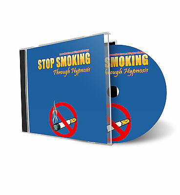 Stop Smoking Hypnotherapy Hypnosis AUDIO CD