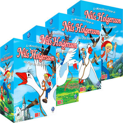 ★ Nils Holgersson ★ Intégrale - Pack 16 DVD