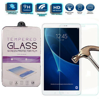 """Genuine Tempered Glass Screen Protector For Samsung Galaxy Tab A T580 T585 10.1"""""""