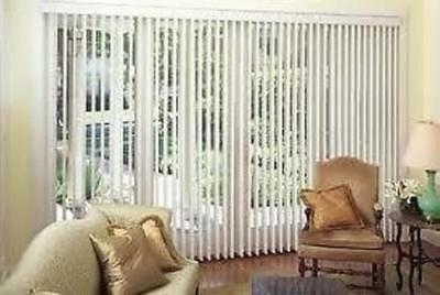 Quality White Made To Measure Vertical Window Blinds