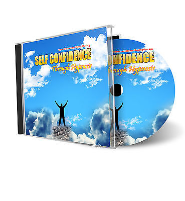 Self Confidence/Esteem Hypnotherapy Hypnosis AUDIO CD