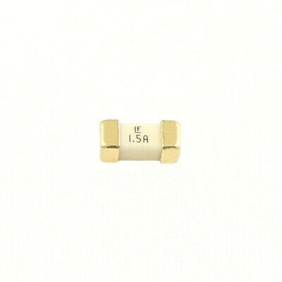 100Pcs Littelfuse Fast Acting SMD Fuse 1808 1.5A 125V