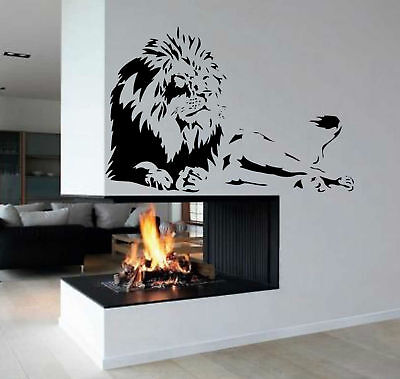 Lion Africa Zoo Animal Removable Kid Room Wall Art Decor Vinyl Decal Sticker