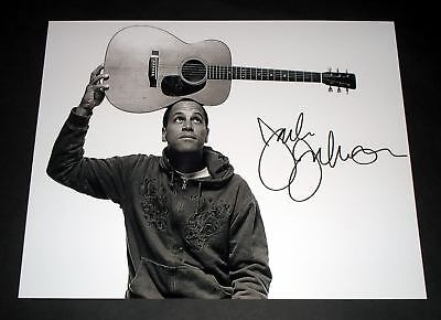 "Jack Johnson Pp Signed 10""x8"" Photo Repro Folk"