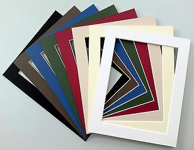 Picture Mounts - A5 - Choice of Colours & Sizes