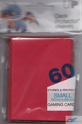 60 Ultra Pro Yugioh Cardfight Red Deck Protectors Card Sleeves