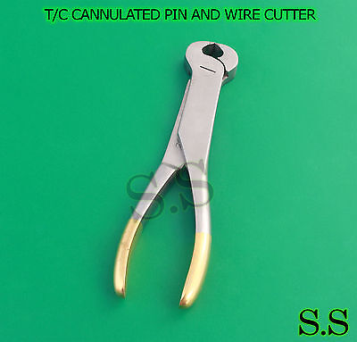 T/C CANNULATED PIN AND WIRE CUTTER Orthopedic Surgical Veterinary Instruments