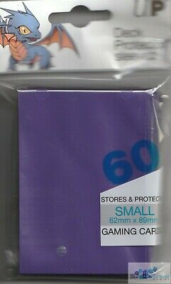 60 Ultra Pro Yugioh Purple Deck Protector Card Sleeves