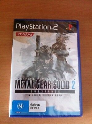 Metal Gear Solid 2 Substance PS2 PAL *NEW&SEALED!!*