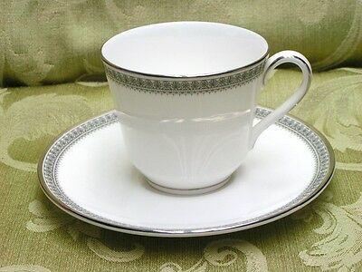 Ravenswood by Royal Doulton China CUP + SAUCER white