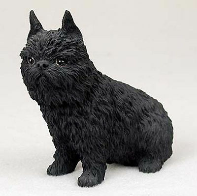 Brussels Griffon Hand Painted Collectible Dog Figurine