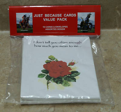 Just Becuase Small Cards Assortment~300 count
