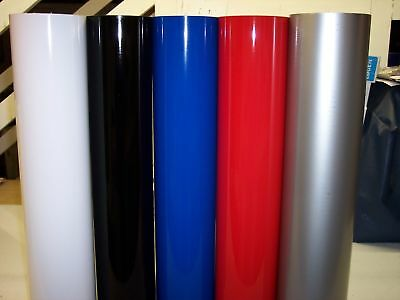 "24"" SIGN VINYL: 5 Rolls, 10'each color,  (50' Total)"