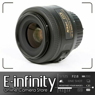 NEW Nikon AF-S DX Nikkor 35mm F1.8 G Lens