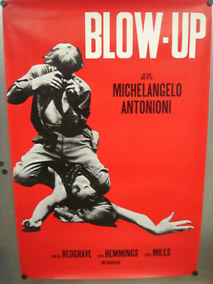 """BLOW-UP MOVIE (ITALIAN) POSTER 27"""" x 39.5"""""""