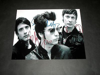 """Stereophonics Pp Signed 10""""x8"""" Photo Repro Kelly Jones"""