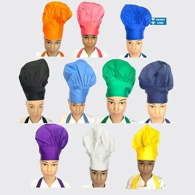 Junior Chef Kids Hat, Kids Chef Caps - Finest Quality Polycotton Fabrics