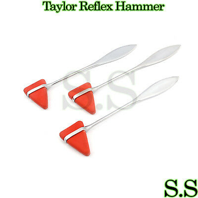 3 Taylor Percussion (Reflex) Hammer Medical Surgical