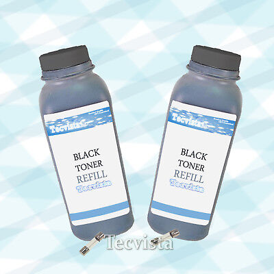 2PK Toner ML2010 Refill for Samsung ML1610 w/ Fuse