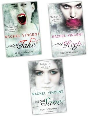 Rachel Vincent Soul Screamers 3 Books Young Adult Collection Paperback Gift Set