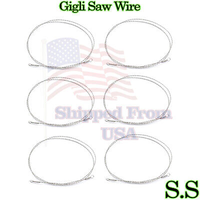 """4-Gigli Saw Wire 12"""" Orthopedic,Veterinary Instruments"""