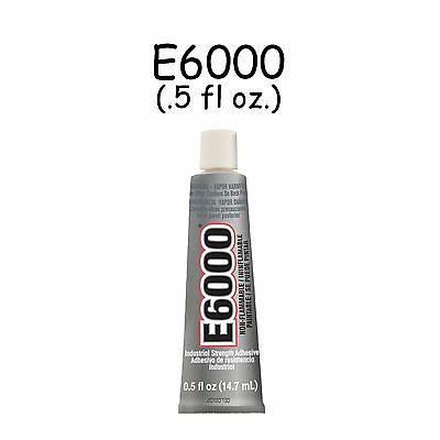 E6000 0.5 oz Tube Multi Purpose Craft Adhesive Glue