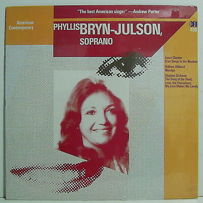Phyllis Bryn-Julson:american Contemporary Songs--Lp Ovp