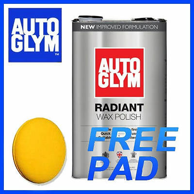 Autoglym Radiant Wax Polish - New Formula 5L
