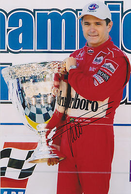 Gil De Ferran Hand Signed Photo 12x8 2.