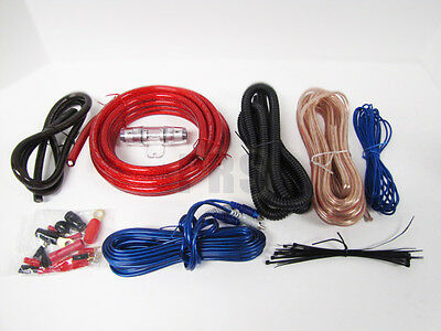 New 4 Gauge Complete Car Amp Car Audio Four Gauge Installation Wiring Kit
