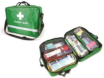 FIRST RESPONDER ON SCENE / SPORTS FIRST AID KIT 86 Pieces Check out contents!