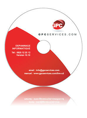 CD dépannage informatique  windows 7 / 8 / VISTA / XP