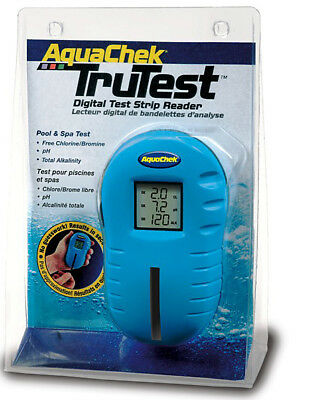 AquaChek TruTest Digital Test Strip Reader Hot Tub Spa 75 Test Strips FREE !!!
