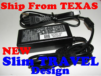 Genuine Dell Travel Slim Inspiron 640M 700M AC Charger